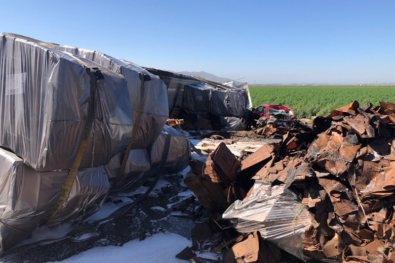1 Dead, 1 Injured in Fiery 3-Car Crash in Camarillo