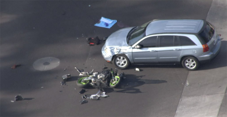 Motorcyclist Killed in Crash in Phoenix
